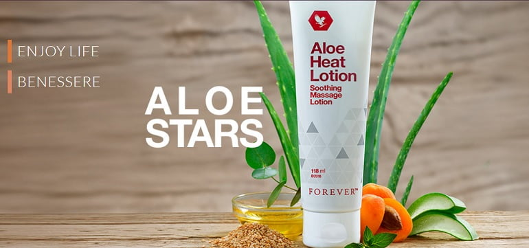 Aloe Heat Lotion della Forever Living Products