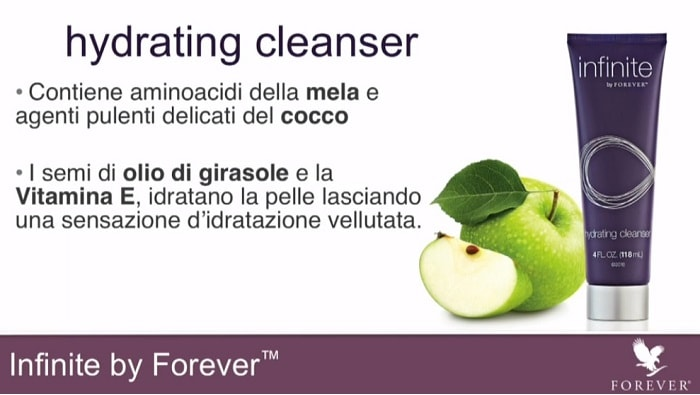 Latte detergente con Aloe Vera della Forever Living Products: Hydrating Cleanser
