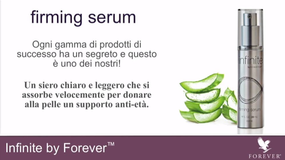 Serum antiage della Forever Living Products (The Aloe Vera Company)
