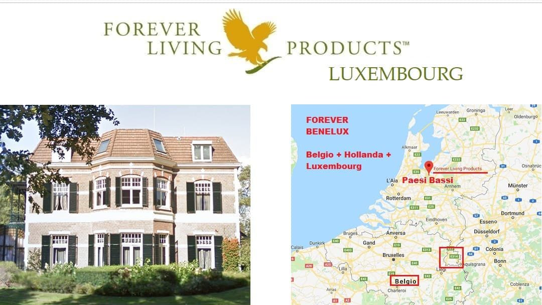 Forever Living Products LUXEMBOURG – registration and shop