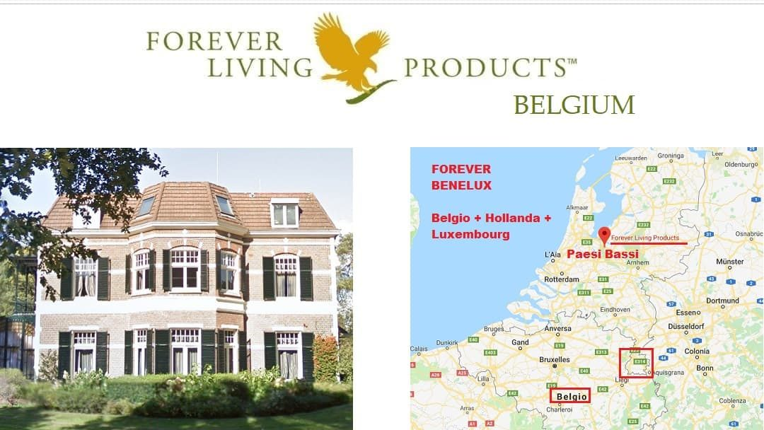 Forever Living Products BELGIUM – registration and shop online