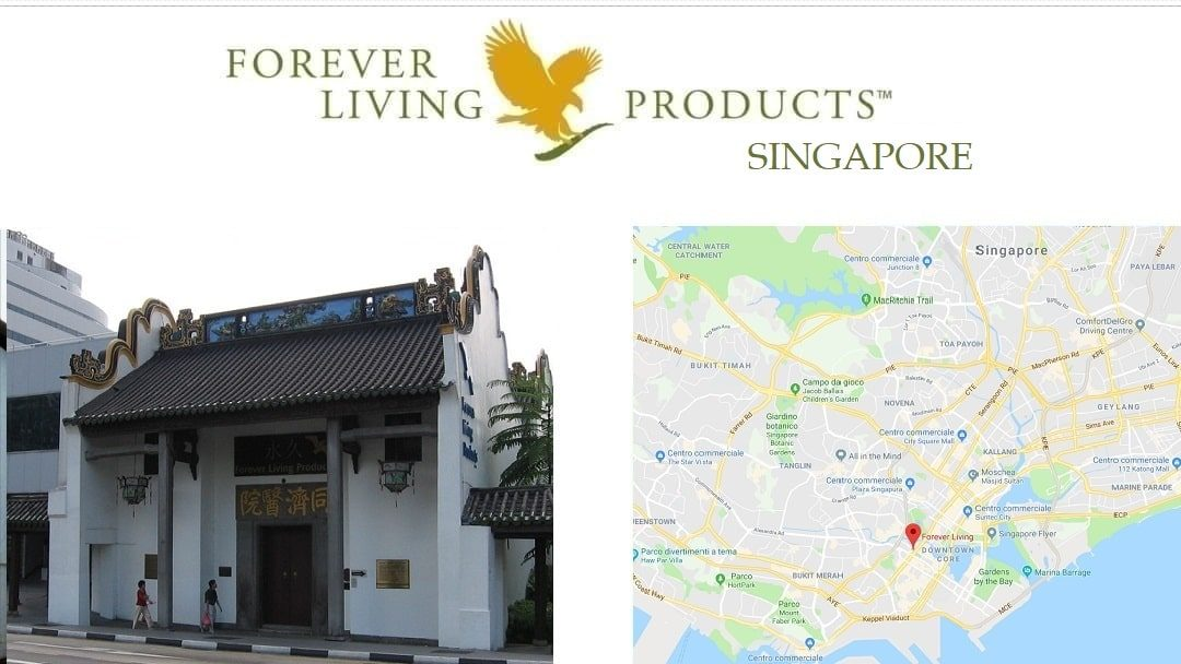 Forever Living Products SINGAPORE - registration and shop online