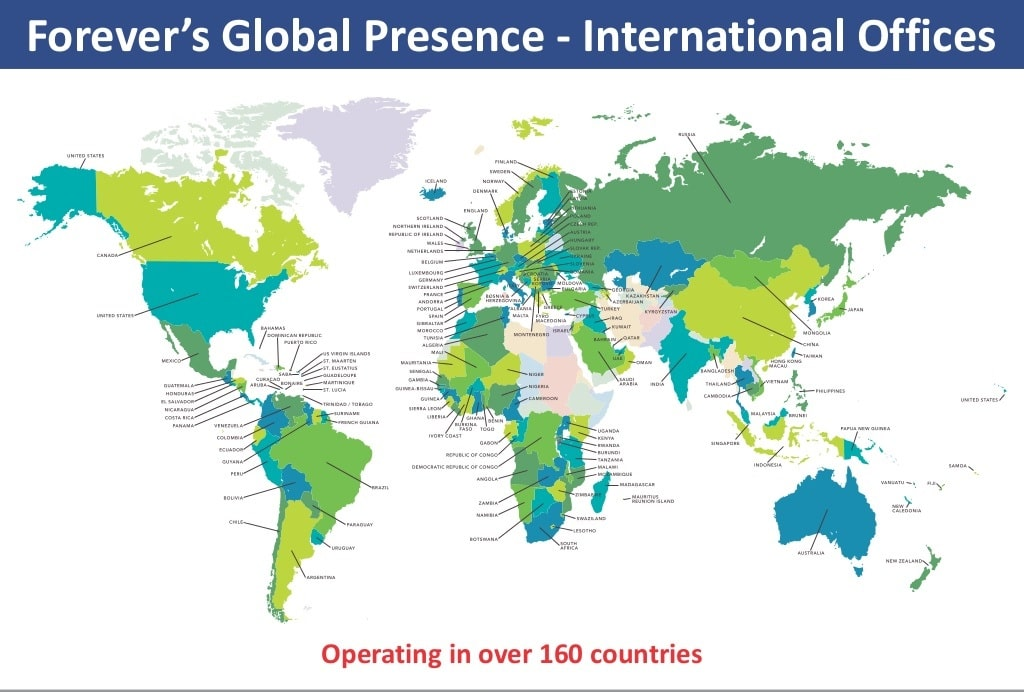 Forever Living Products Head Offices worldwide
