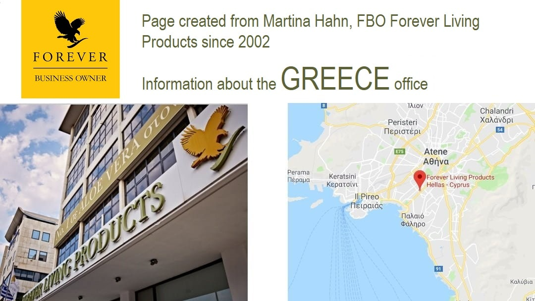 Forever Living Products GREECE - shop and registration online