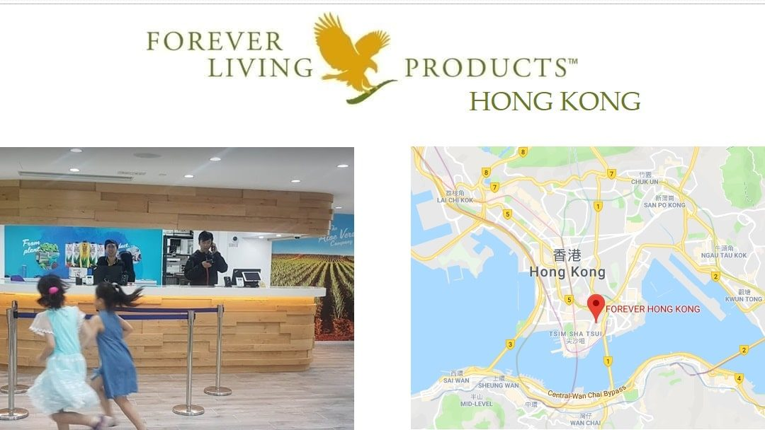 Forever Living Products Hong Kong office and registration