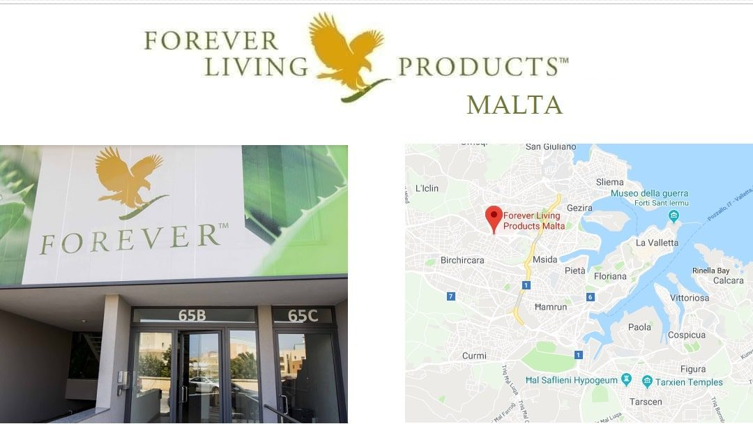 Forever Living Products MALTA - shop and registration