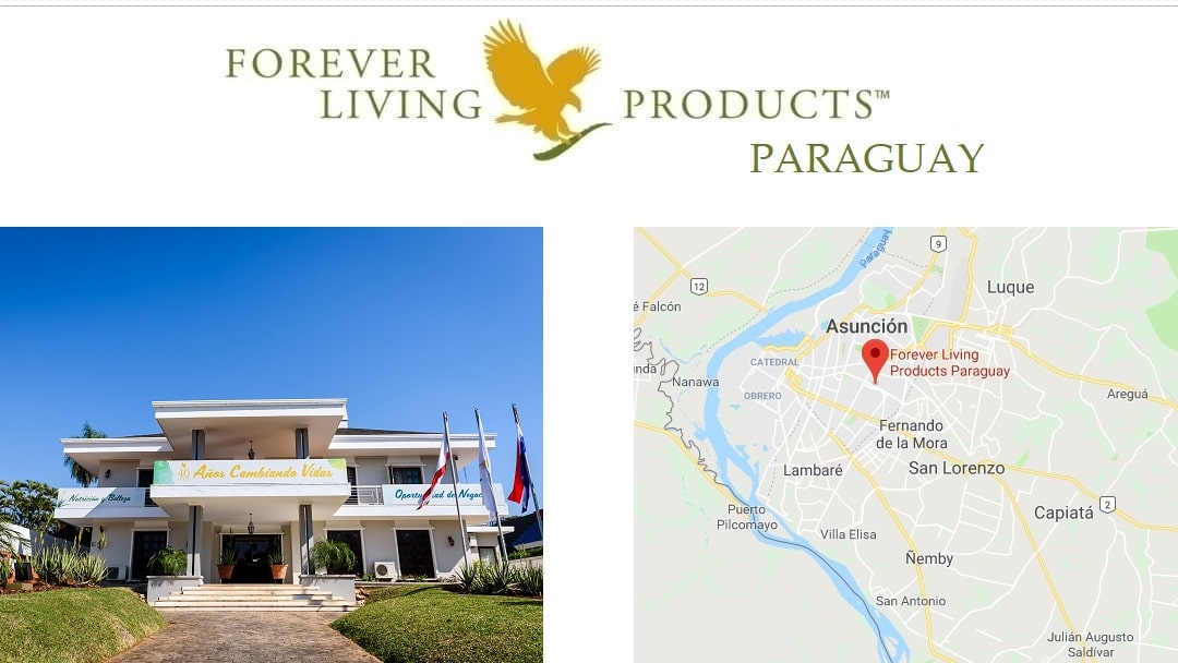 Officina de Forever Living Products Paraguay