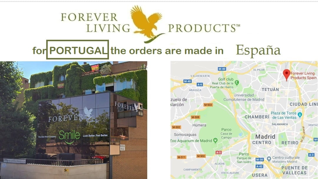 Forever Living Products Portugal - map and office adress, shop