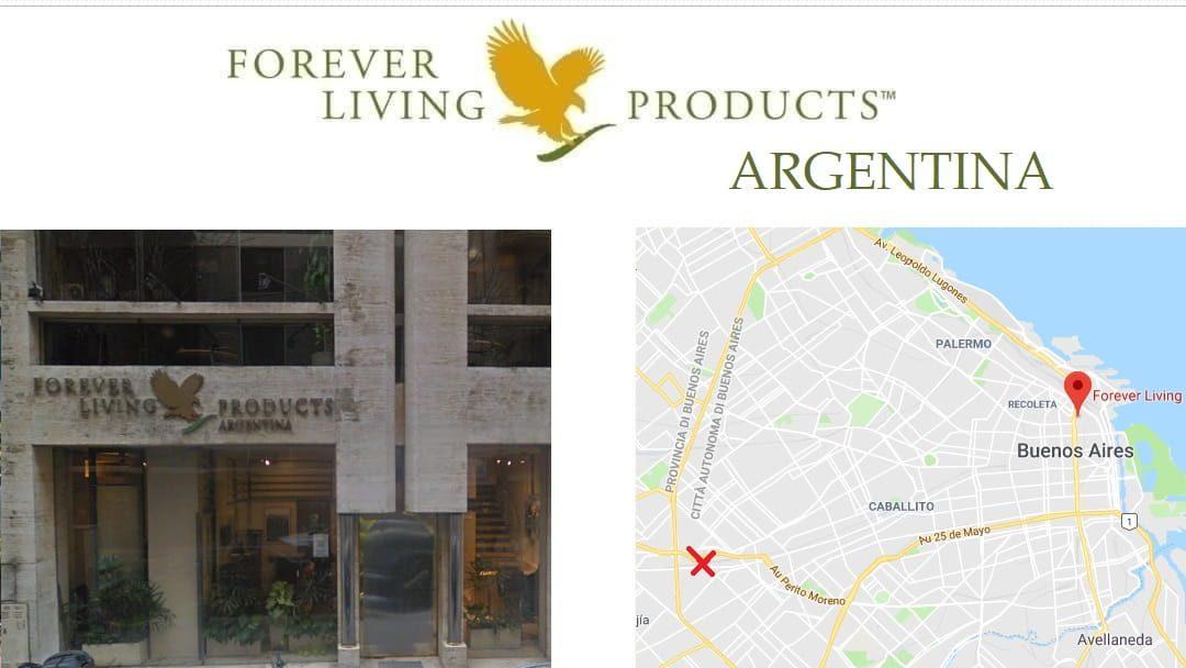 Forever Living Products ARGENTINA – registro como distribuidor