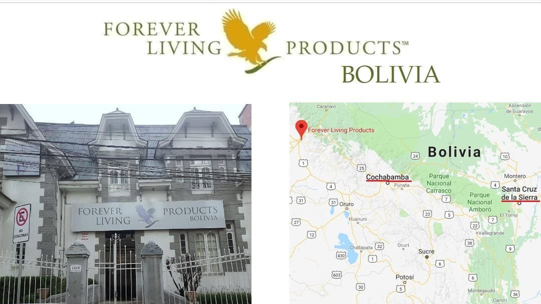 Forever Living Products BOLIVIA – registro como distribuidor online (FBO)