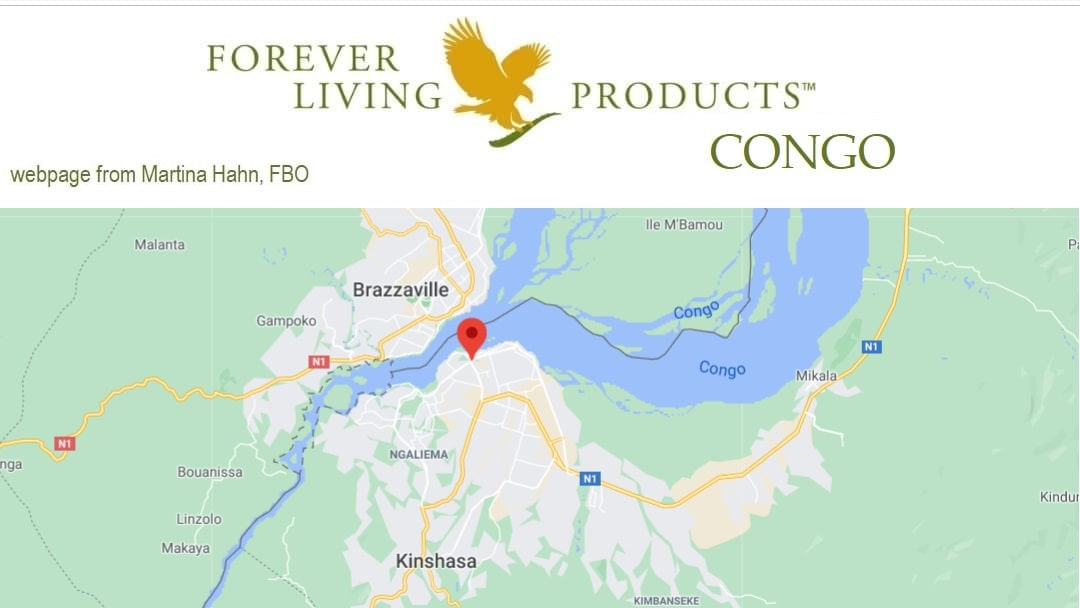 Forever Living Products Congo - subscribe as a Forever distributor