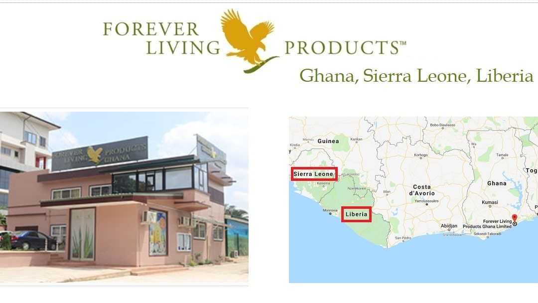Forever Living Products Ghana + Liberia + Sierra Leone: online registration