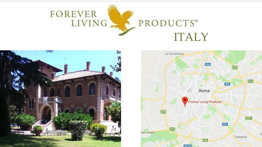 Forever Living Products Italy - distributor registration and shop online