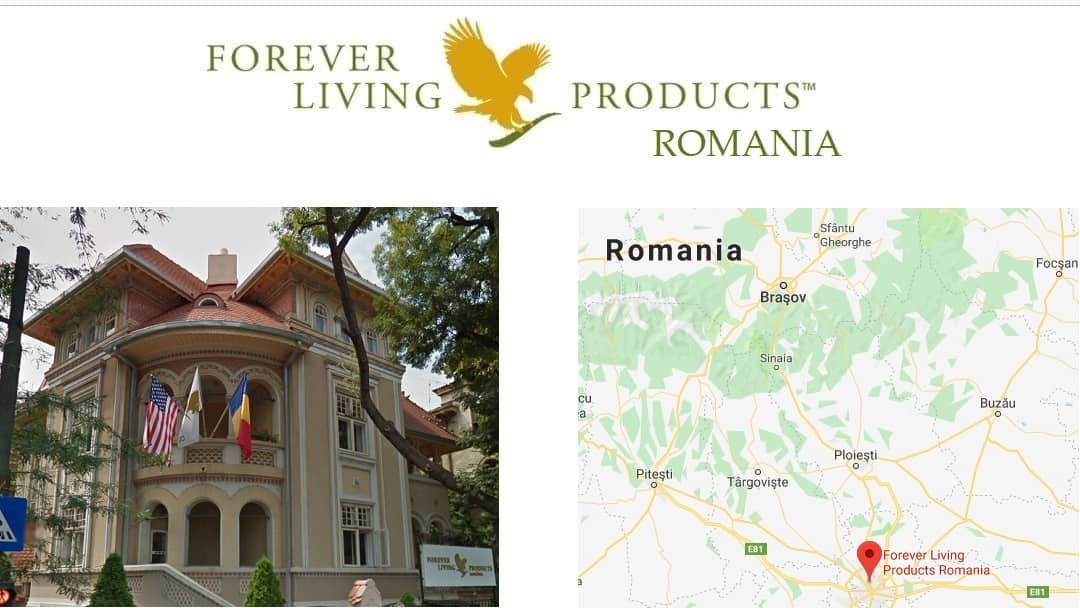 Forever Living Products - ROMANIA office - online subscription