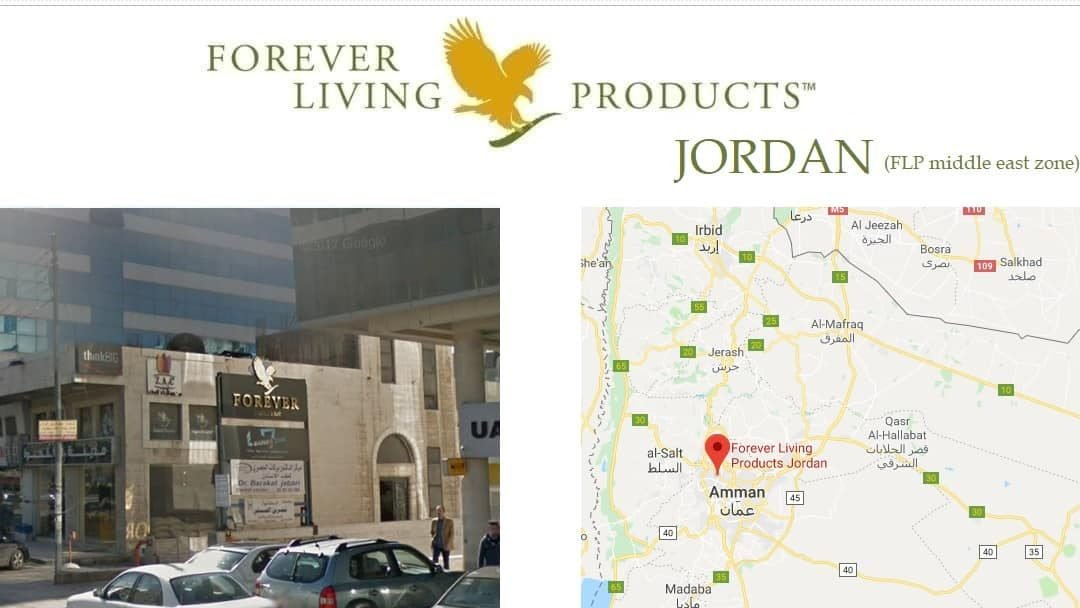 Forever Living JORDAN – FBO registration and shop