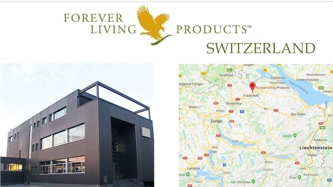 Forever Living Products Svizzera - registrazione distributori online