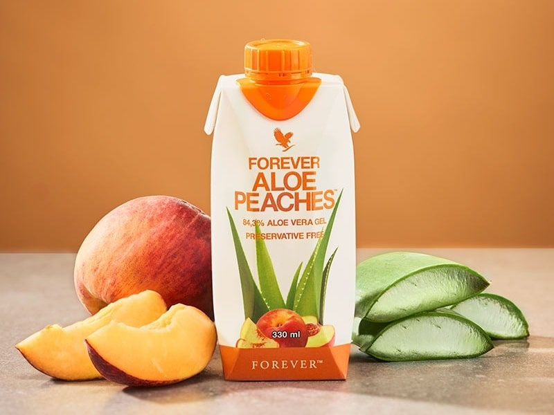 Forever Aloe Peaches mini della Forever Living Products