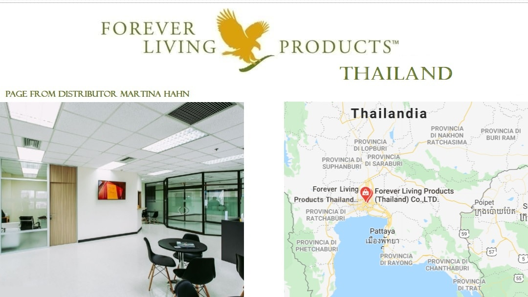 Forever Living Products Thailand information