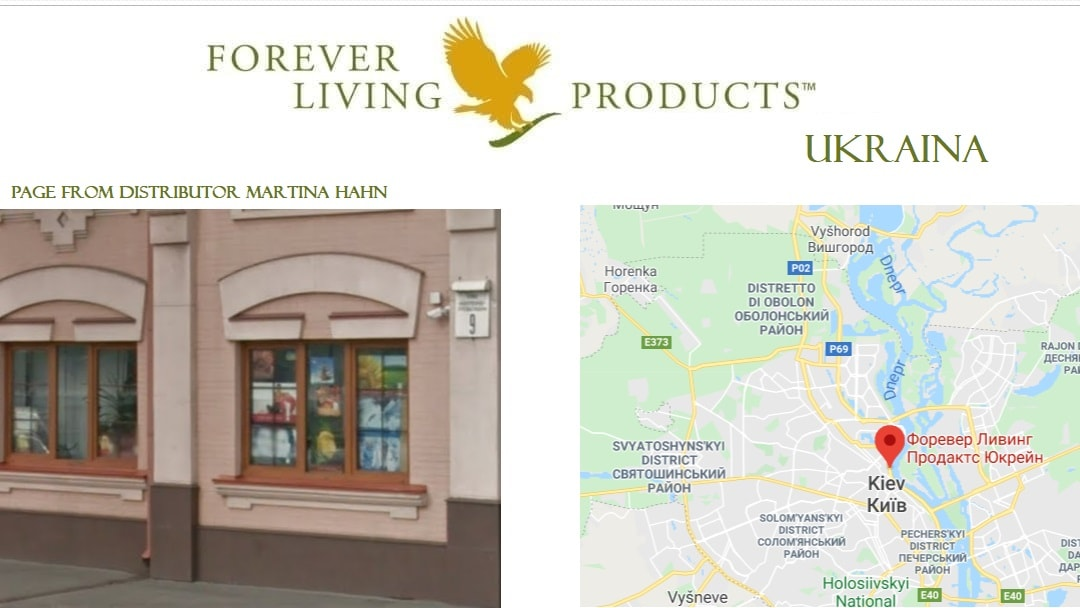 Head office Forever Living Products Ukraine