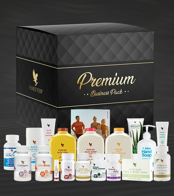 Premium Business Pack Forever Living Products Brasil