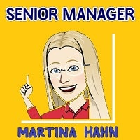 Martina Hahn, Senior Manager Forever, FBO since 2002
