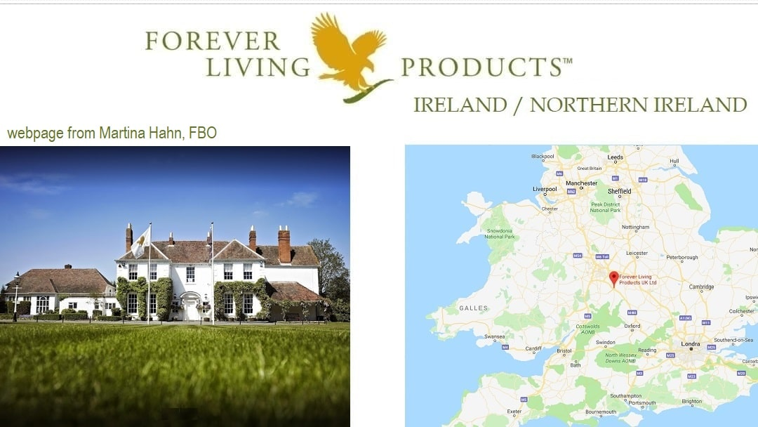 Forever Living Products Ireland and Northern Ireland
