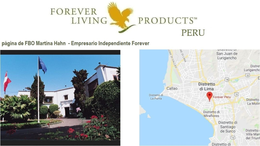 Forever Living Products Peru - Aloe Vera productos