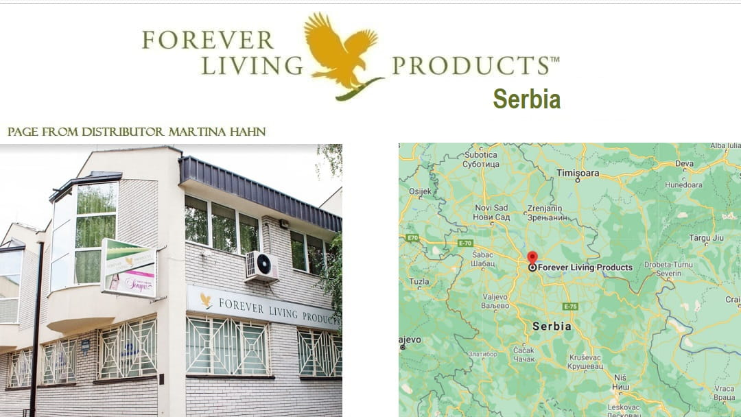 Forever Living Products online registration in Serbia